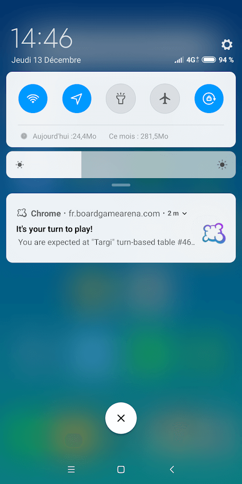 Web & mobile notifications - Board Game Arena